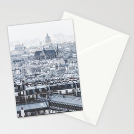 Rooftops - Architecture, Photography Stationery Cards