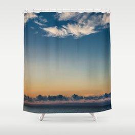 Folly Sunrise Shower Curtain