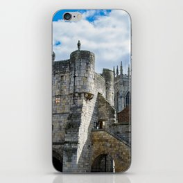 York Minster and Bootham Bar iPhone Skin
