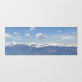 Alps Panorama Canvas Print