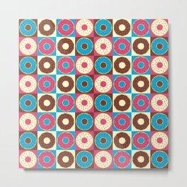 Too Many Donuts Metal Print