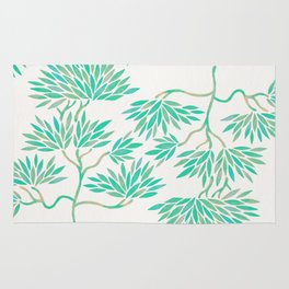 Bonsai Tree – Mint Palette Rug