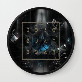 DigitalSpace Wall Clock