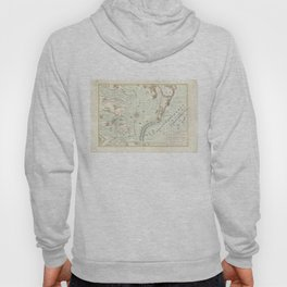 Vintage Map of The Battle of Yorktown (1781) Hoody