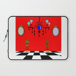 An Elegant Hall of Mirrors with Chandler and Topiary Laptop Sleeve