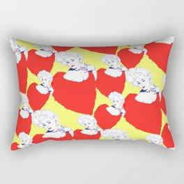 Stone Cold Fox - 'She Shoulda Said No' Poster Pattern Rectangular Pillow