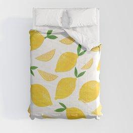 Lemon Cut Out Pattern Comforters