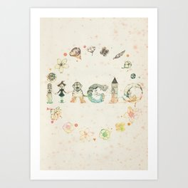 Magic Art Print