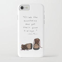 Good Tidings iPhone Case