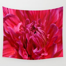 Deep Red Wall Tapestry