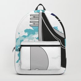 The symbol of the city of Venice-gondola Backpack