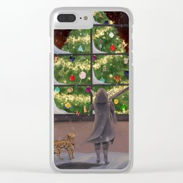 Mighty Nein - Critmas - Critical Role Clear iPhone Case