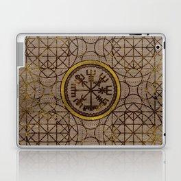 Vegvisir. The Magic Navigation Viking Compass Laptop & iPad Skin