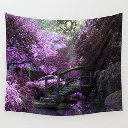 Tea Garden Wall Tapestry