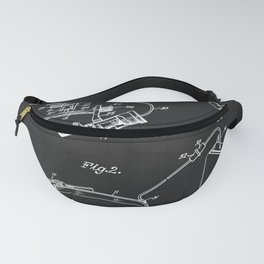 Forehead Lamp Device For Doctors Patent Fanny Pack