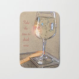 Wine Time Bath Mat