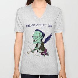 It's Frankenstein's Day Unisex V-Neck