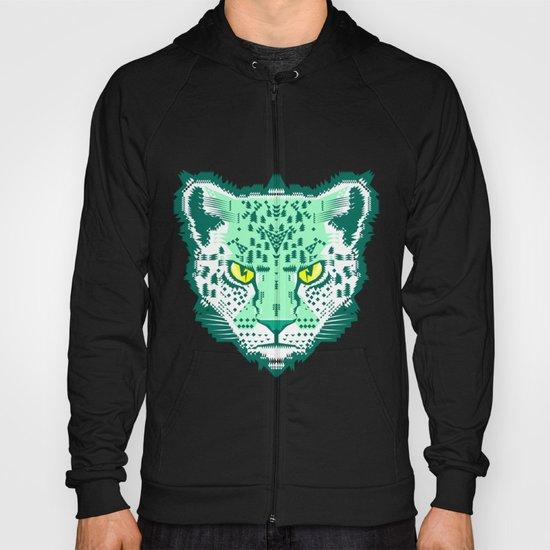 Emerald Leopard  Hoody