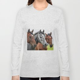 Wonderful Horses Long Sleeve T-shirt