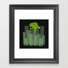 Clean monster Framed Art Print