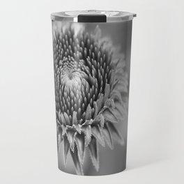 Macro Hypnosis (Monochrome) Travel Mug