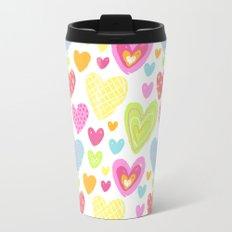 spring hearts Travel Mug