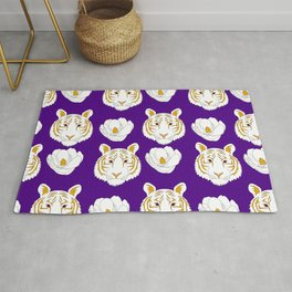 LSU purple Rug