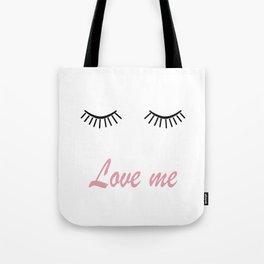 Love me 2 Tote Bag