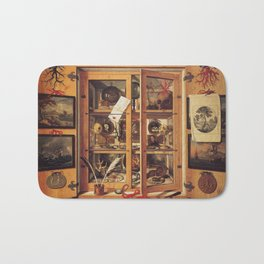 Cabinet of curiosities Bath Mat