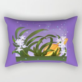 The Flowering of the Universe Rectangular Pillow