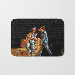 U2 / Bono / Edge / Until The End Of The World Bath Mat