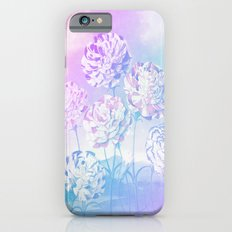 Colorful Pastel Flowers iPhone 6s Slim Case