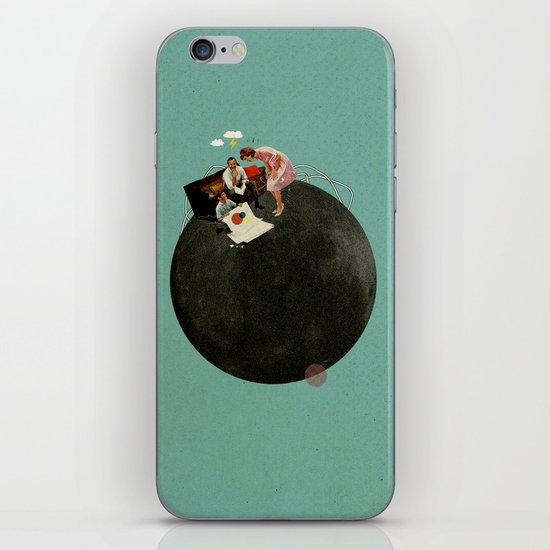 Life on Earth   Collage iPhone & iPod Skin