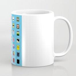 Minimalism beloved Videogame Characters Coffee Mug