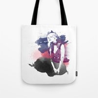 stevie nicks Tote Bags featuring Stevie Nicks by 2b2dornot2b