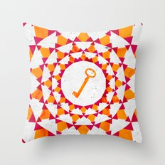 Phantom Keys Series - 03 Throw Pillow