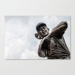 Ron Santo Statue - Wrigley Field Canvas Print