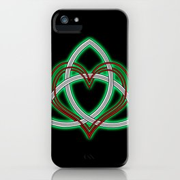 Heart of God iPhone Case