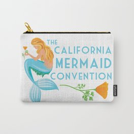Simple Logo ·•· California Mermaid Convention Carry-All Pouch