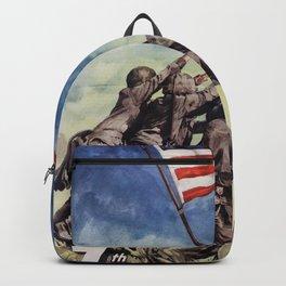 Raising the Flag on Iwo Jima Backpack