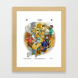 The Fantastic Craft Coffee Contraption Suite - The Fantastic Craft Coffee Contraption Framed Art Print