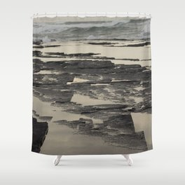 Indian Ocean - Dwesa Nature Reserve, South Africa Shower Curtain