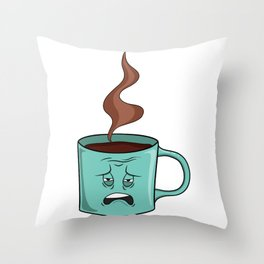 Need Coffee Throw Pillow