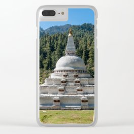 Chendebji Chorten in Bhutan Clear iPhone Case