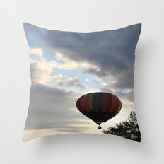 Adrift Amongst the Clouds Throw Pillow
