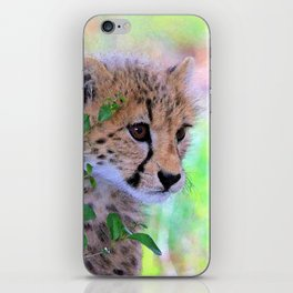 Aqua_Cheetah_20180102_by_JAMColorsSpecial iPhone Skin