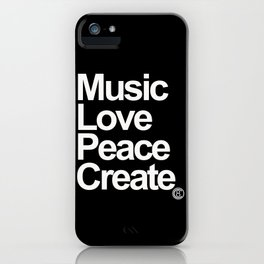 MLPC White iPhone Case