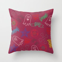 Trick or treat #2 Throw Pillow