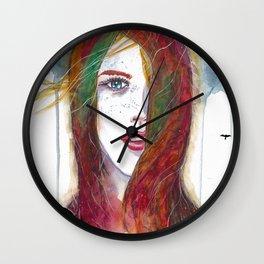I'll Fly Away Wall Clock
