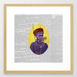 Resolução (Resolution) Framed Art Print